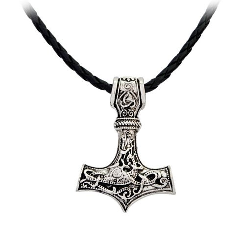 Raytheon Hammer Mjolnir Necklace Halsband