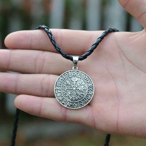 Pirate Compass Vikings Necklace