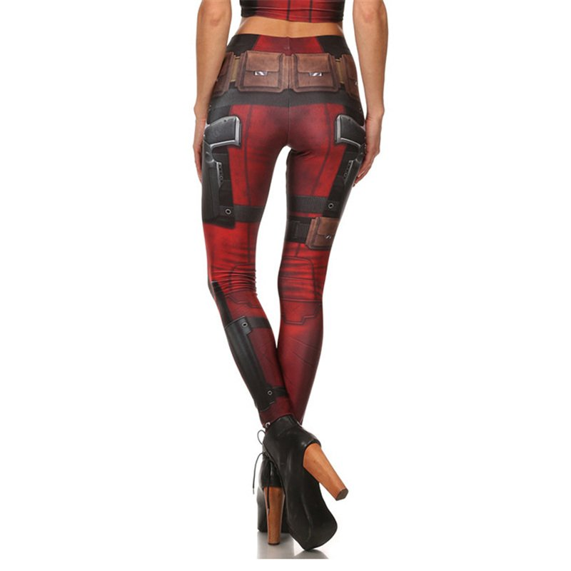 Super Hero Deadpool Leggings