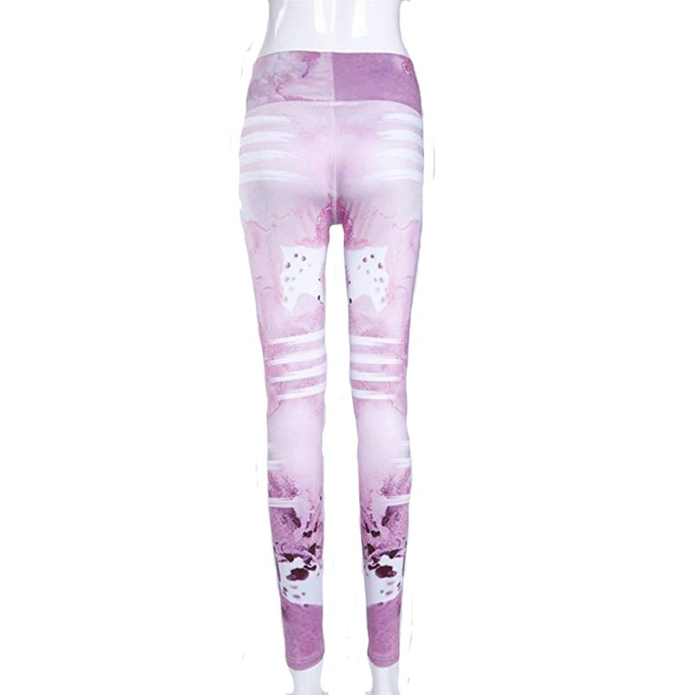 Rosa Yoga Fitness Tights Leggings Pants