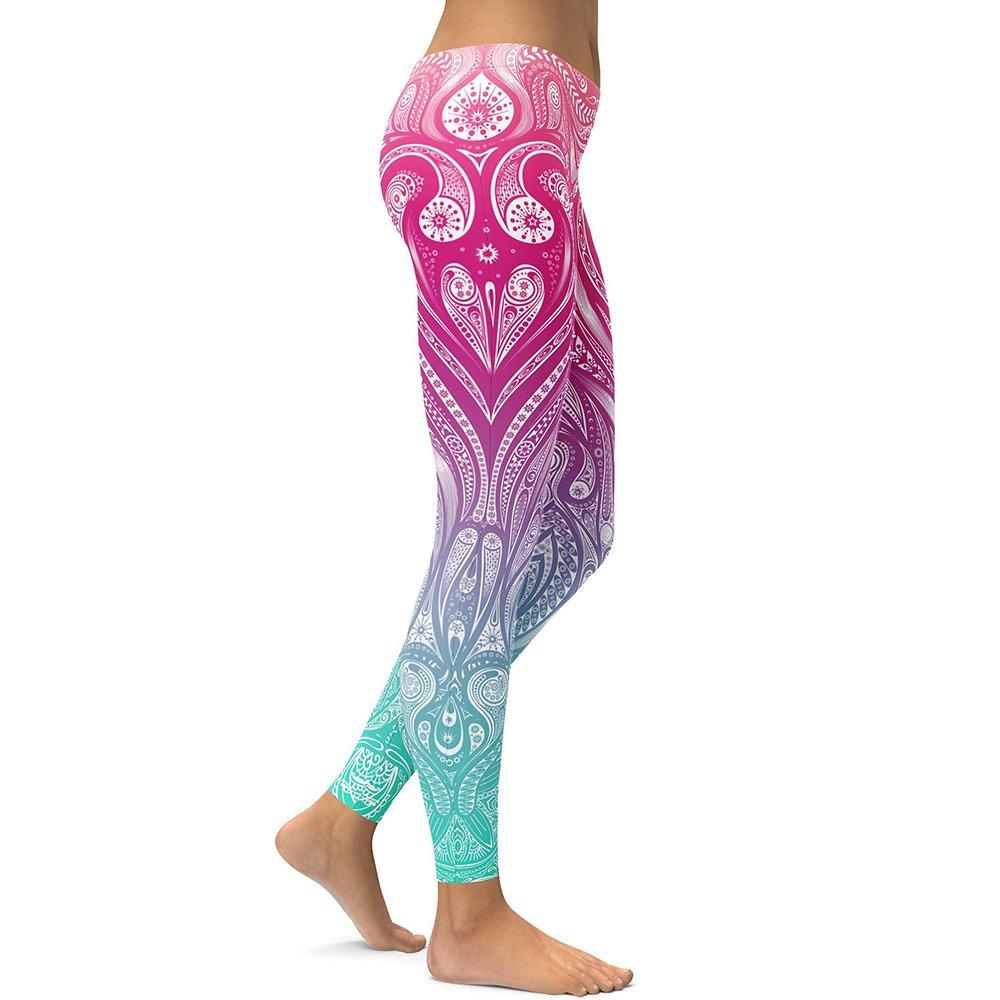 Flower Mandala Leggings