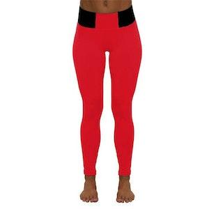 Red and Black Leggings