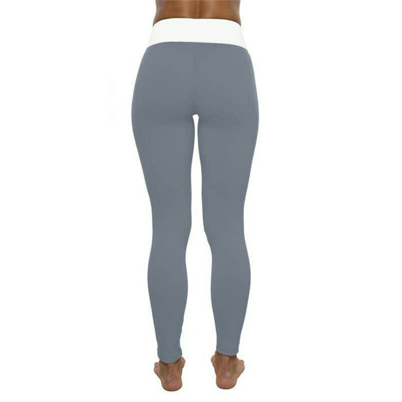 Grey and White Leggings