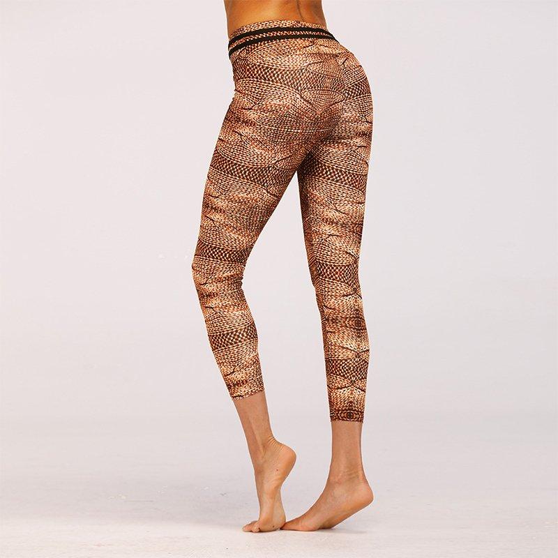 Stick mönstrade Leggings