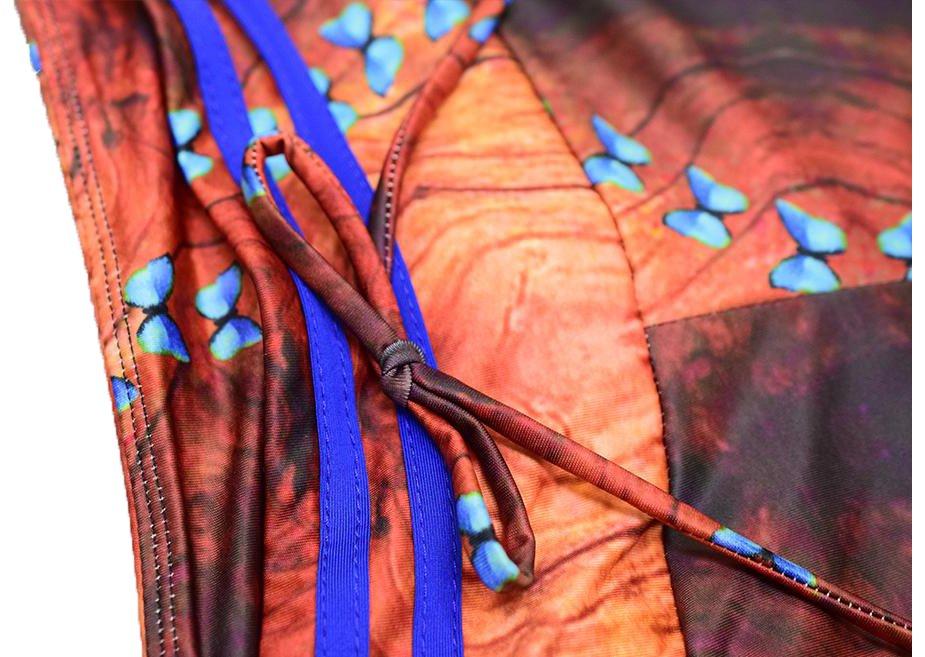 Fjärils Yoga Leggings