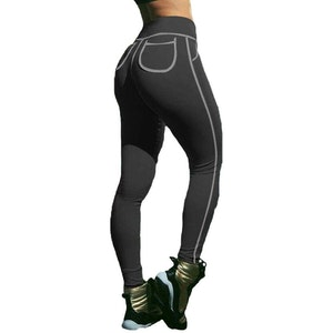 Svarta Hot Fashion Leggings