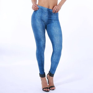 Jeans Mönstrade Leggings