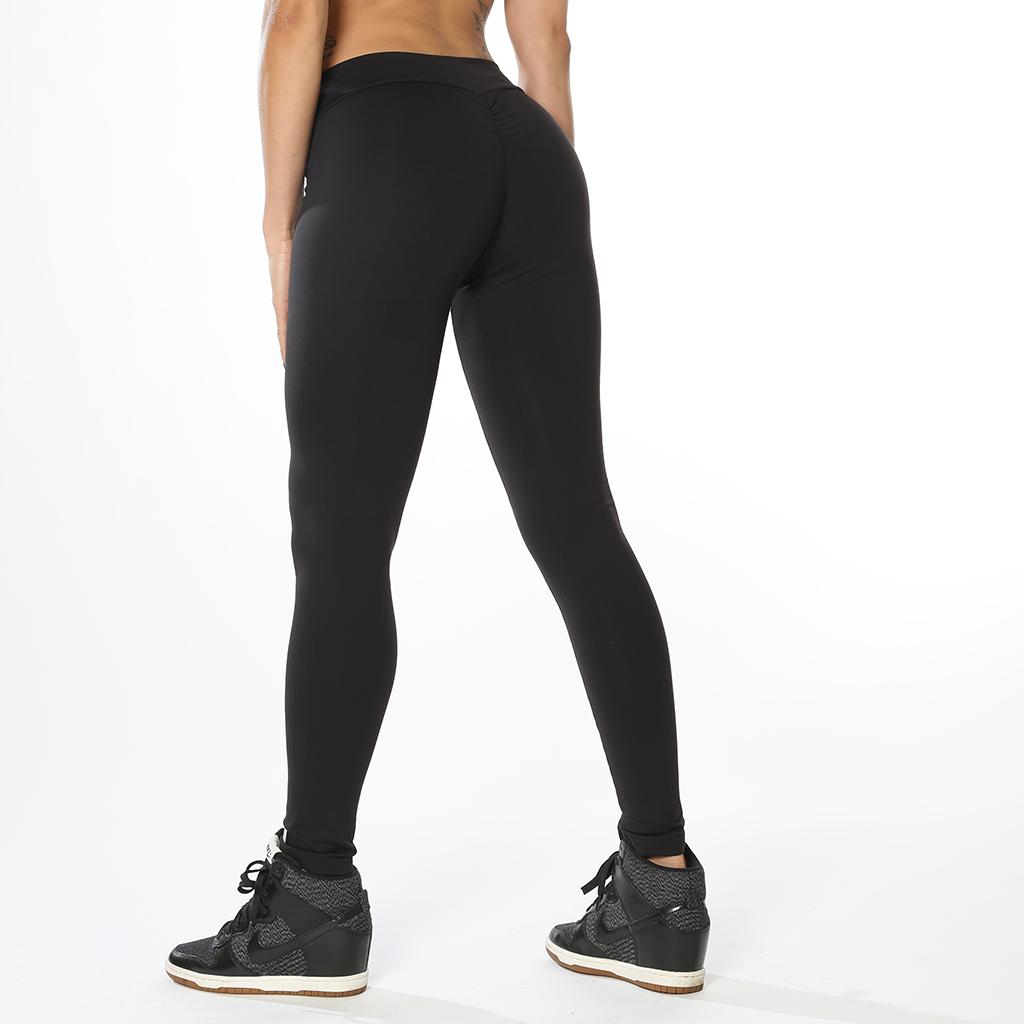 Svarta och Grå leggings v-form