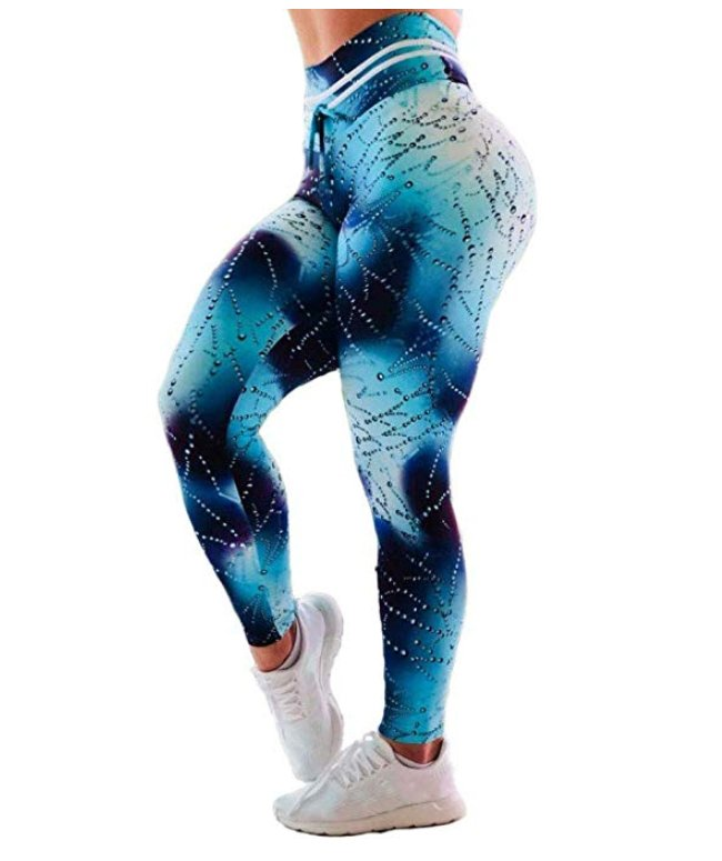 Vatten bubblor 3D Leggings