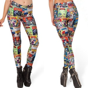 Cartoon Detective Leggings