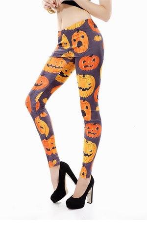 Pumpkin Leggings Fynd