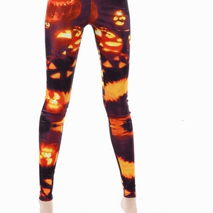 Burning Pumpkin Leggings