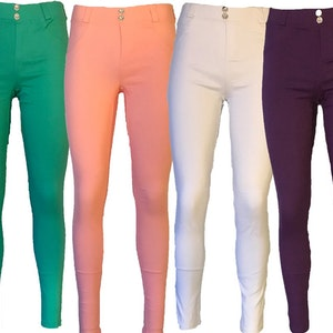 Stretch Leggings Jeggings i 4 färger Fynd