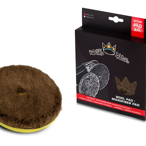 Royal Pads Serie AIR Synthetic Wool Cut pad 150mm