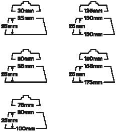 Royal Pads Ultimate line Pro Cut 130mm