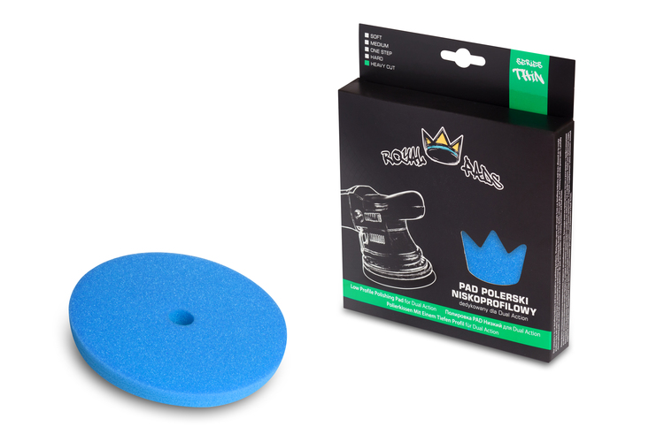 Royal Pads Serie Thin Heavy cut pad 130mm