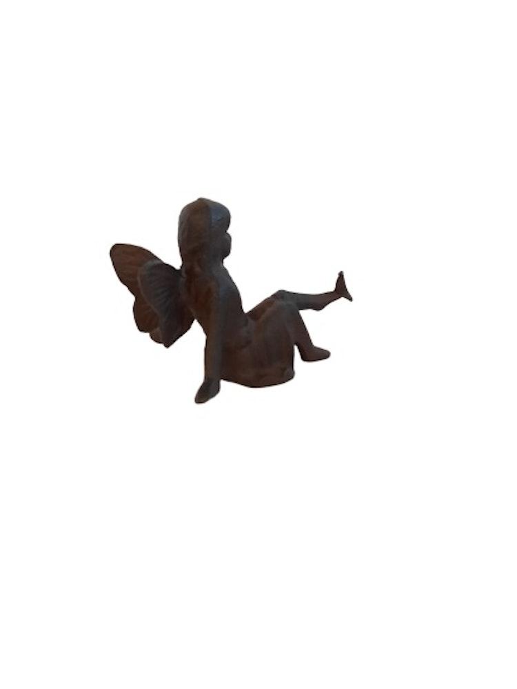 Lilla Täppan fe med fågel på tån