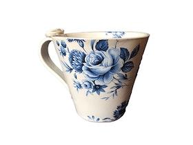 Keramikkopp med fjäril