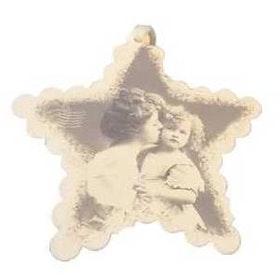 Hängen barn/mor