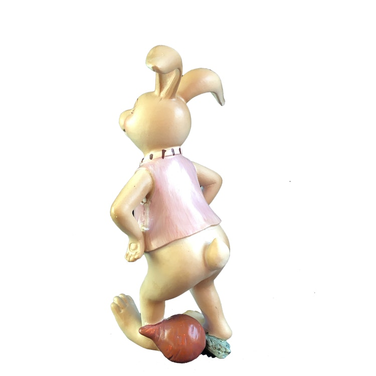 Kaninpojke inredningsdetalj.