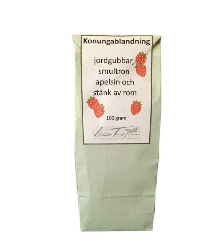 Svart Chinate lösvikt i tepåse Konungablandning.