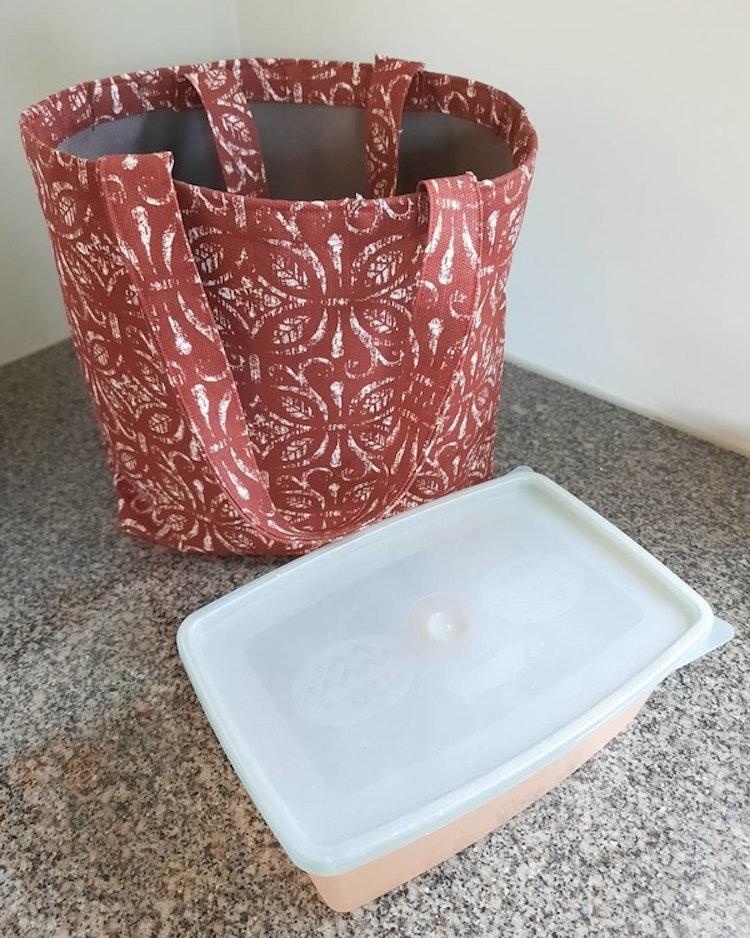 Lilla Täppan väska för shoppingturer