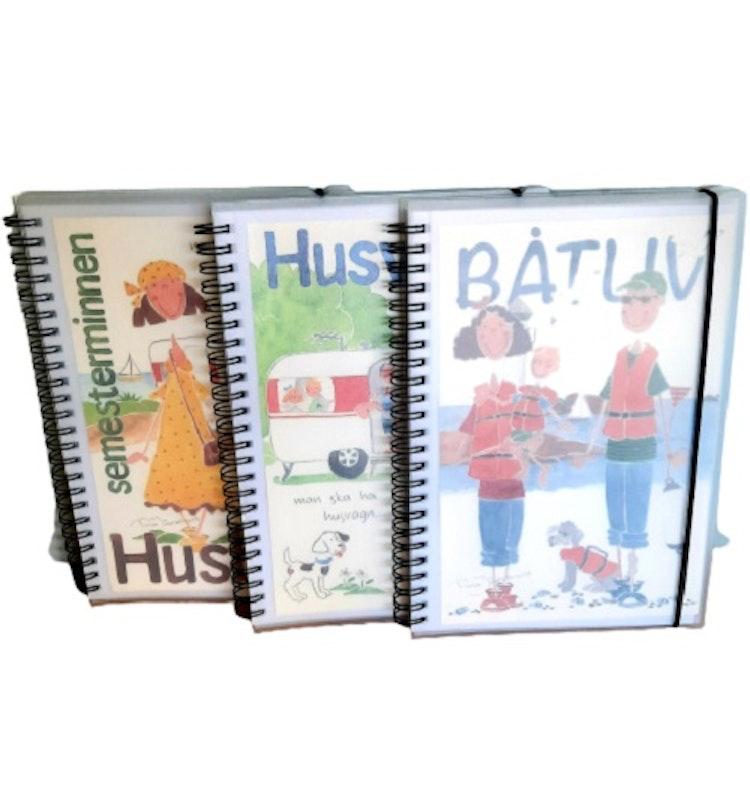 Lilla Täppan anteckningsböcker