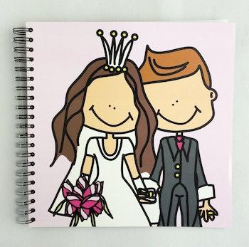 Fotoalbum, bröllop