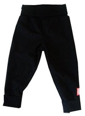 Byxa, enfärgad svart, 62-68