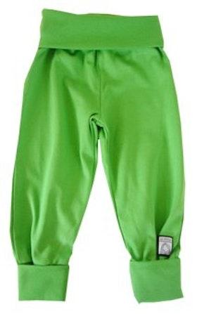 Byxa, enfärgad grön, 62-68