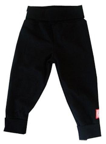Byxa, enfärgad svart, strl 74-80