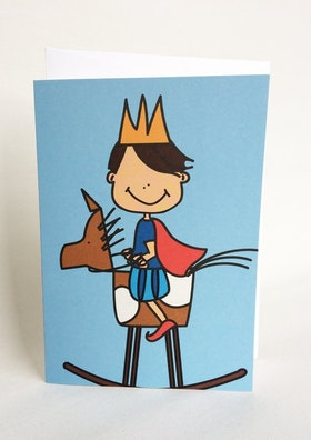 Kort med kuvert - Prins