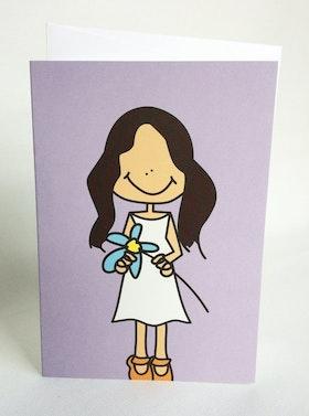 Kort med kuvert - Gabriella
