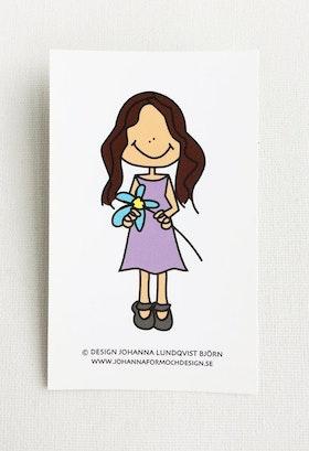 Minikort - Gabriella
