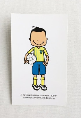 Minikort - Fotbollskille