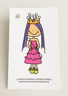 Minikort - Prinsessa