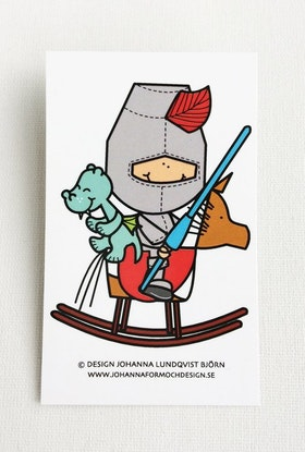 Minikort - Riddaren