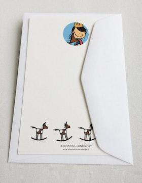 Brevkort med kuvert - Prins