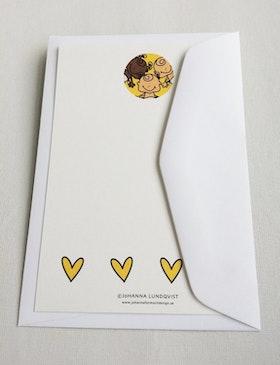 Brevkort med kuvert - Babyboom