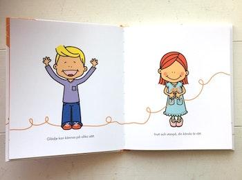 Glädje på olika sätt - barnbok