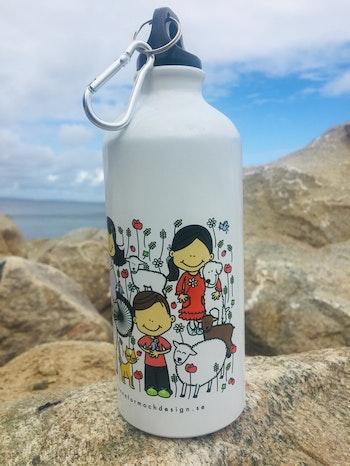 Flaska i aluminium