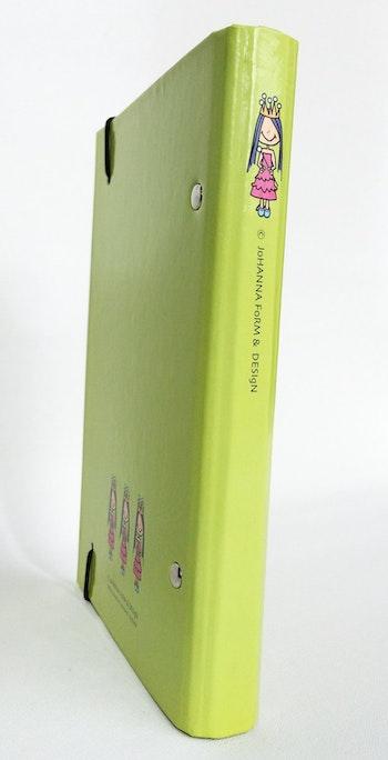 Liten pärm till almanacka/adressbok - Prinsessa