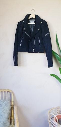 Livelo äkta läderjacka storlek medium