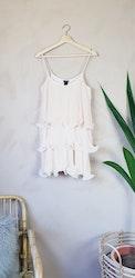 H&M volangklänning storlek medium