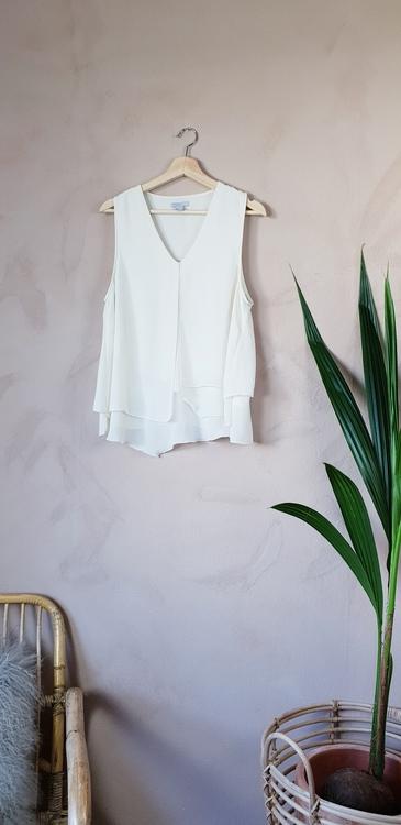H&M linne/blus storlek large