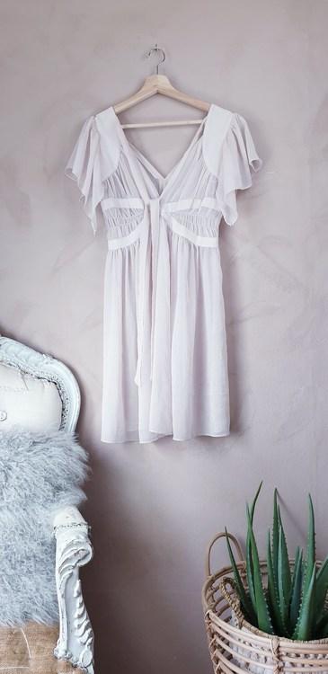 Rosa klänning storlek S/M