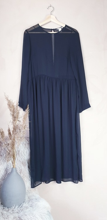 H&M långklänning storlek small