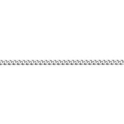 Pansarkedja 42 cm - vitguld