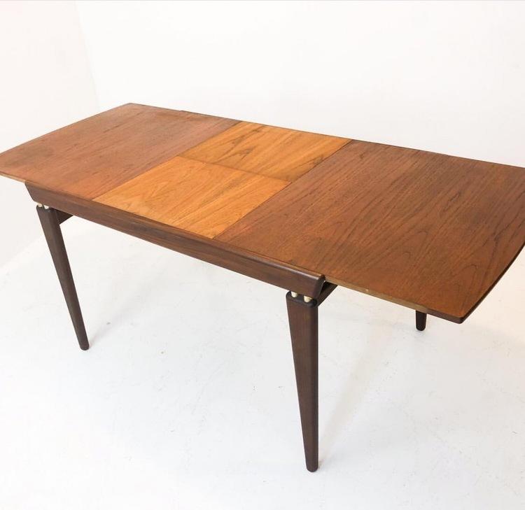 Matbord i teak Arne Hovmand Olsen