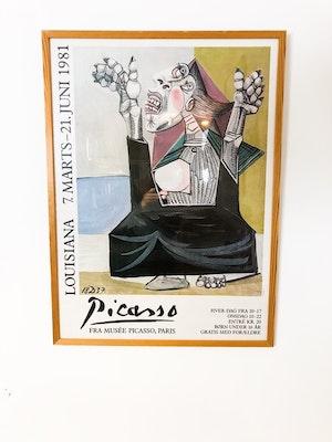 Tavla Picasso Louisiana 1981